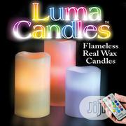 Luma Candles Real Wax Flameless Candles With Remote Control Timer | Home Accessories for sale in Lagos State, Ikeja