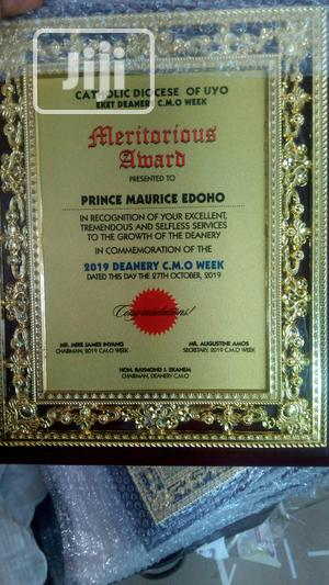 Wooden Plaque Award | Arts & Crafts for sale in Lagos State, Ikorodu