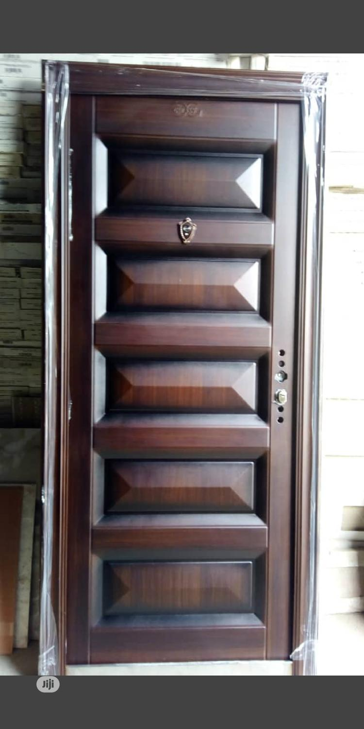 Archive: High Quality Security Door 70mm Thick . 3ft *7ft (900mm*2100mm)