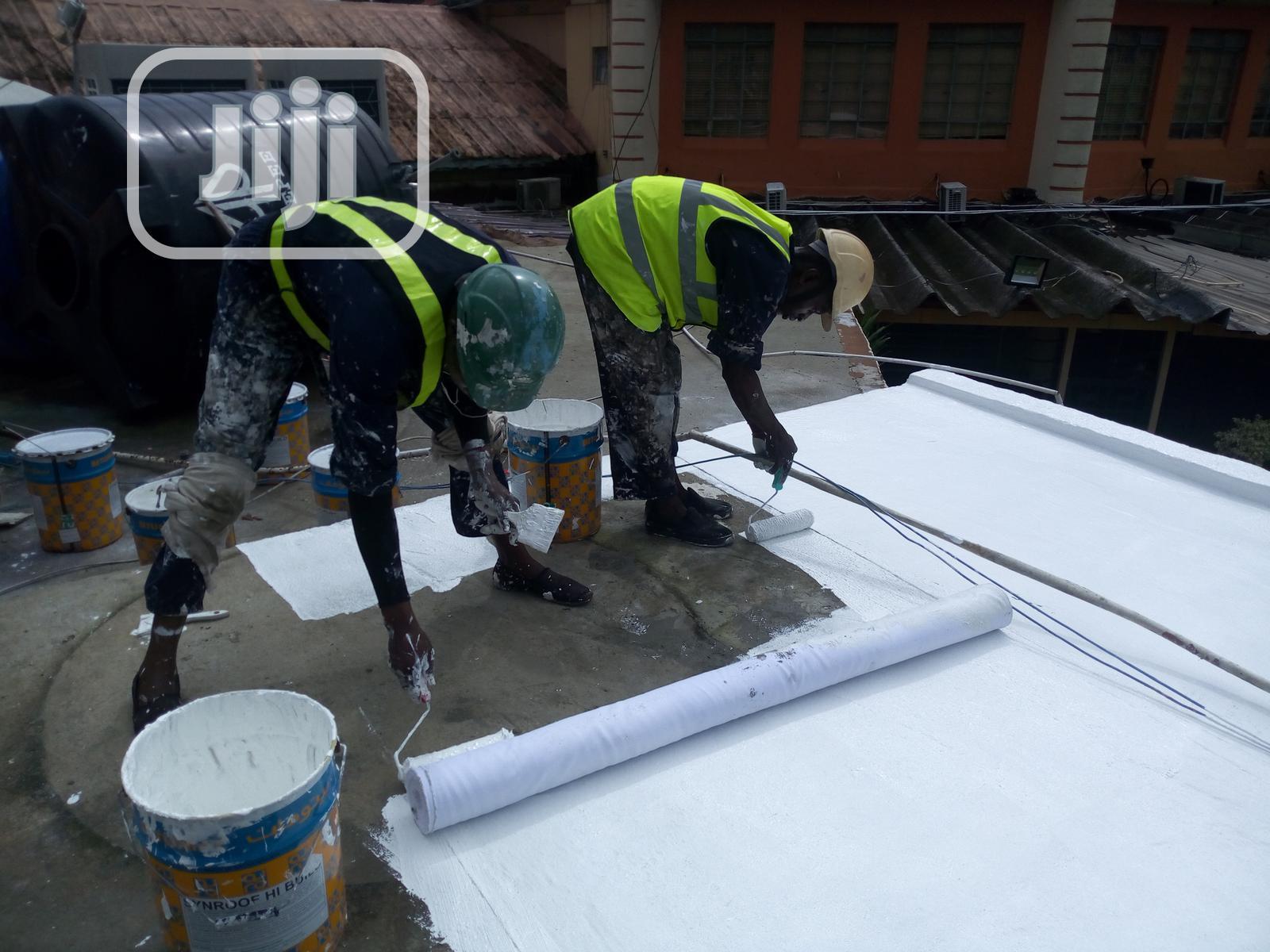Waterproofing Leaking Concrete Deck
