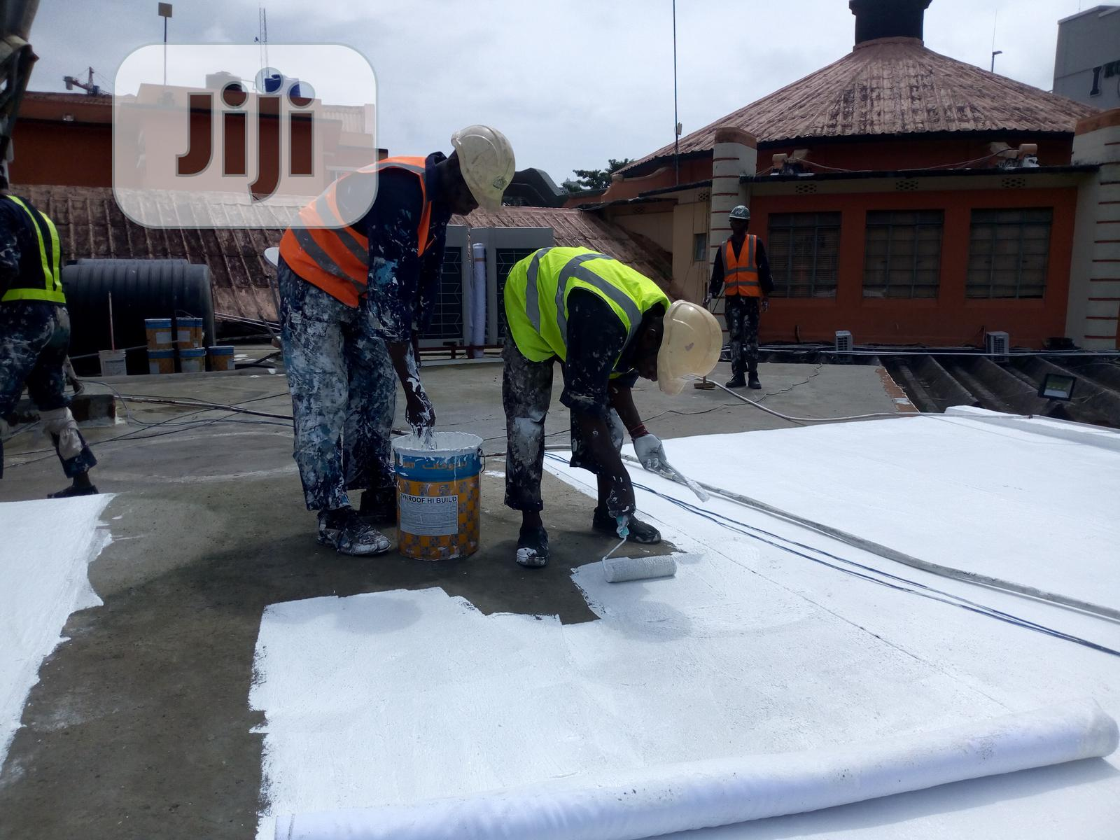 Waterproofing Leaking Concrete Deck | Building & Trades Services for sale in Apapa, Lagos State, Nigeria