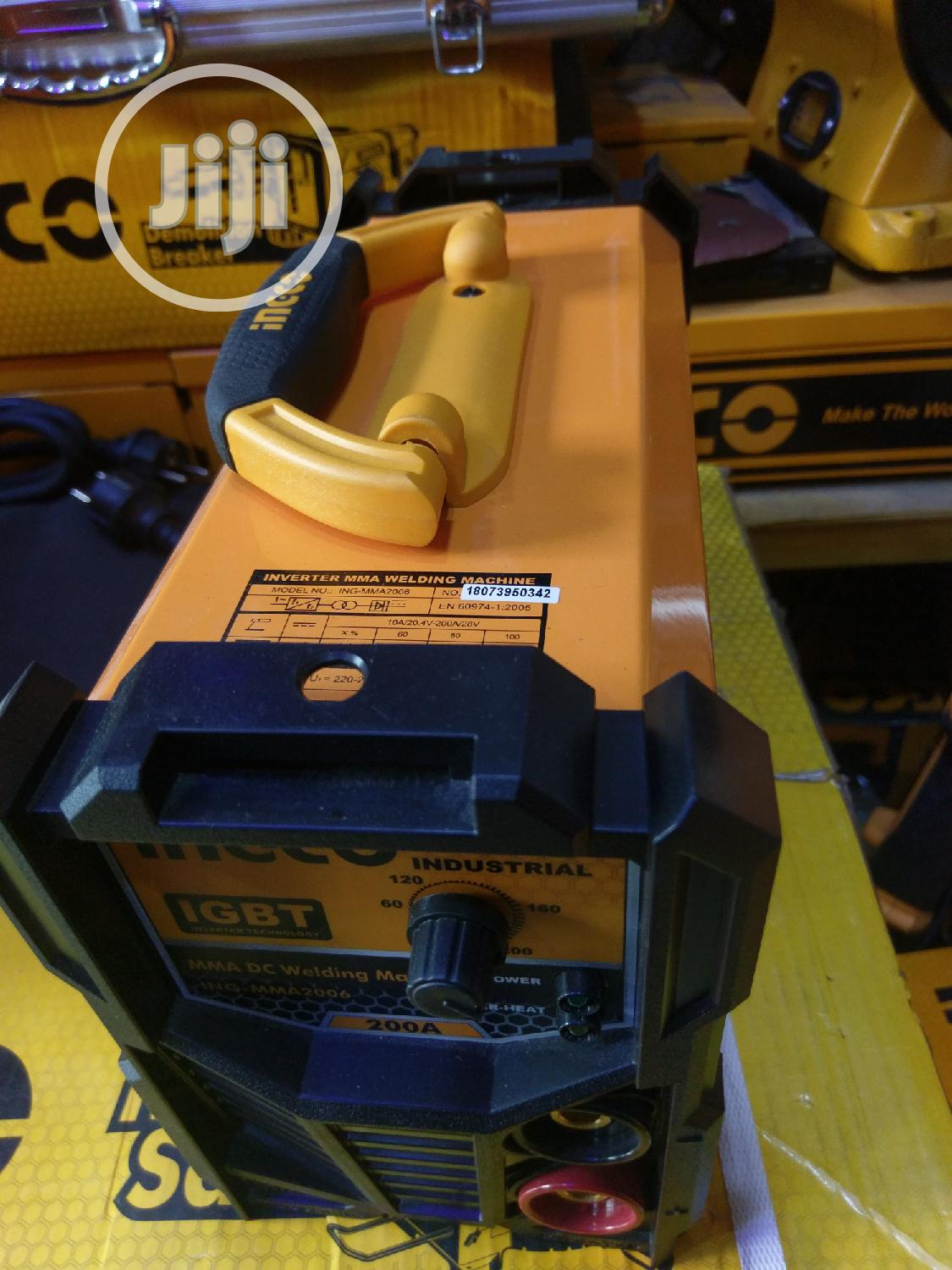 Mma 200A DC Welding Machine   Electrical Equipment for sale in Ojo, Lagos State, Nigeria
