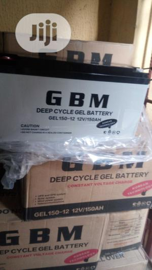 150ah 12volts GBM Battery   Solar Energy for sale in Lagos State, Ojo