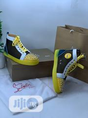 Louboutin Designer High Top Quality Canvas Swipe to Pick Yours | Shoes for sale in Lagos State, Lagos Island