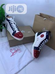 Louboutin High Top Designers Canvas Swipe to Pick Your Preferred | Shoes for sale in Lagos State, Lagos Island