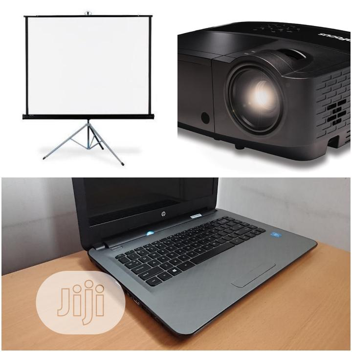Ultimate Rental Of Projector And Laptop
