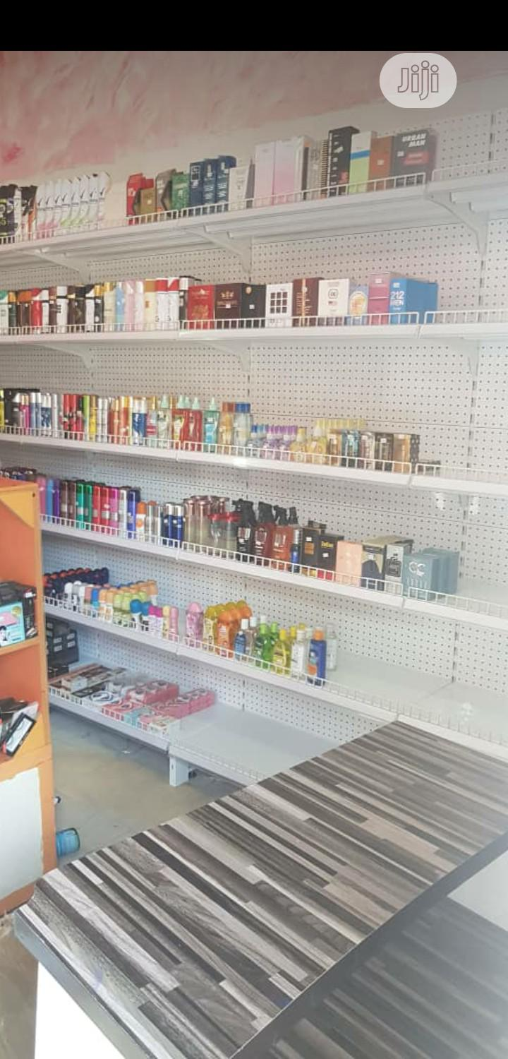 Single Sided New Design Supermarket High Quality Display Shelving | Store Equipment for sale in Lagos State, Nigeria