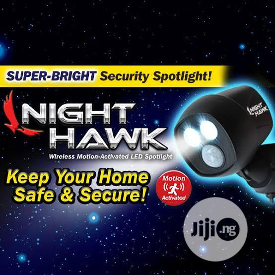 Night Halk Motion Sensor Security Light | Home Appliances for sale in Ikeja, Lagos State, Nigeria