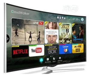 "Polystar 65"" Smart Curved Uhd 4k Led Tv | TV & DVD Equipment for sale in Lagos State, Ojo"