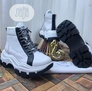 Original Prada Men's Quality Leather Ankle Sneakers | Shoes for sale in Lagos State, Lagos Island