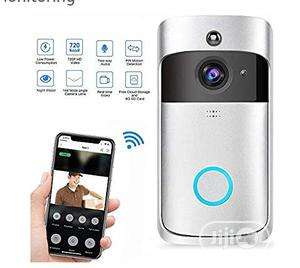 Smart WIFI Video Doorbell, Wireless Smart Doorbell HD Real-time Talk | Home Appliances for sale in Lagos State, Ikeja