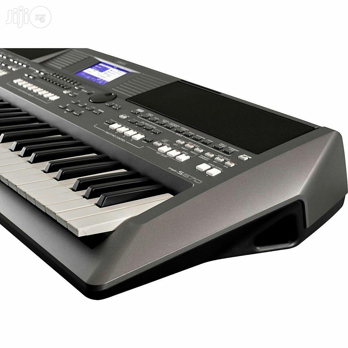 Psr S670 Yamaha Keyboard | Musical Instruments & Gear for sale in Ojo, Lagos State, Nigeria