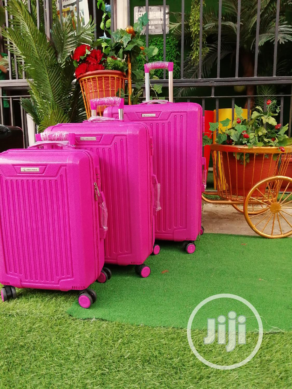 Fancy 3 In 1 ABS Luggage