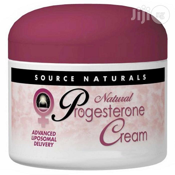 Natural Progesterone Cream (113.4g)