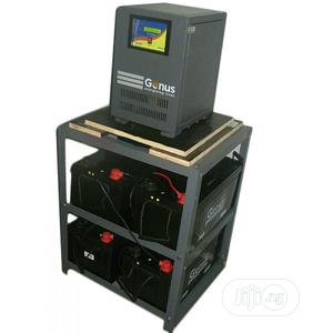 Solar Powered 5kva Genus Inverter + 4 Rugged Indian Batteries   Solar Energy for sale in Lagos State, Victoria Island