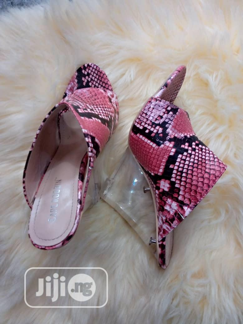 Glass Wedge Slippers   Shoes for sale in Alimosho, Lagos State, Nigeria