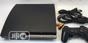 Sony Playstation 3 Slim + 10 Games + Accessories   Video Game Consoles for sale in Lagos State, Surulere