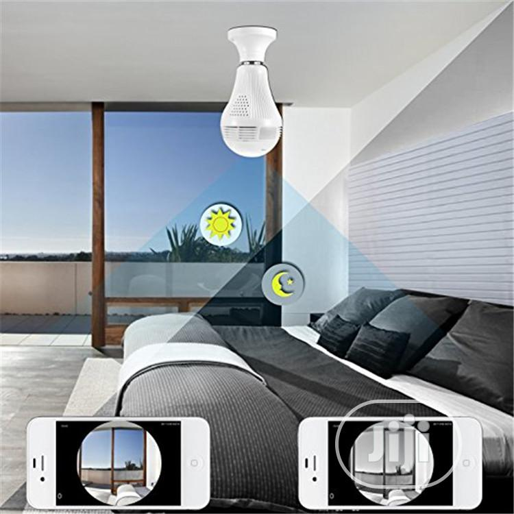 Archive: 360 Degree Panoramic 960P Wifi CCTV Bulb Camera