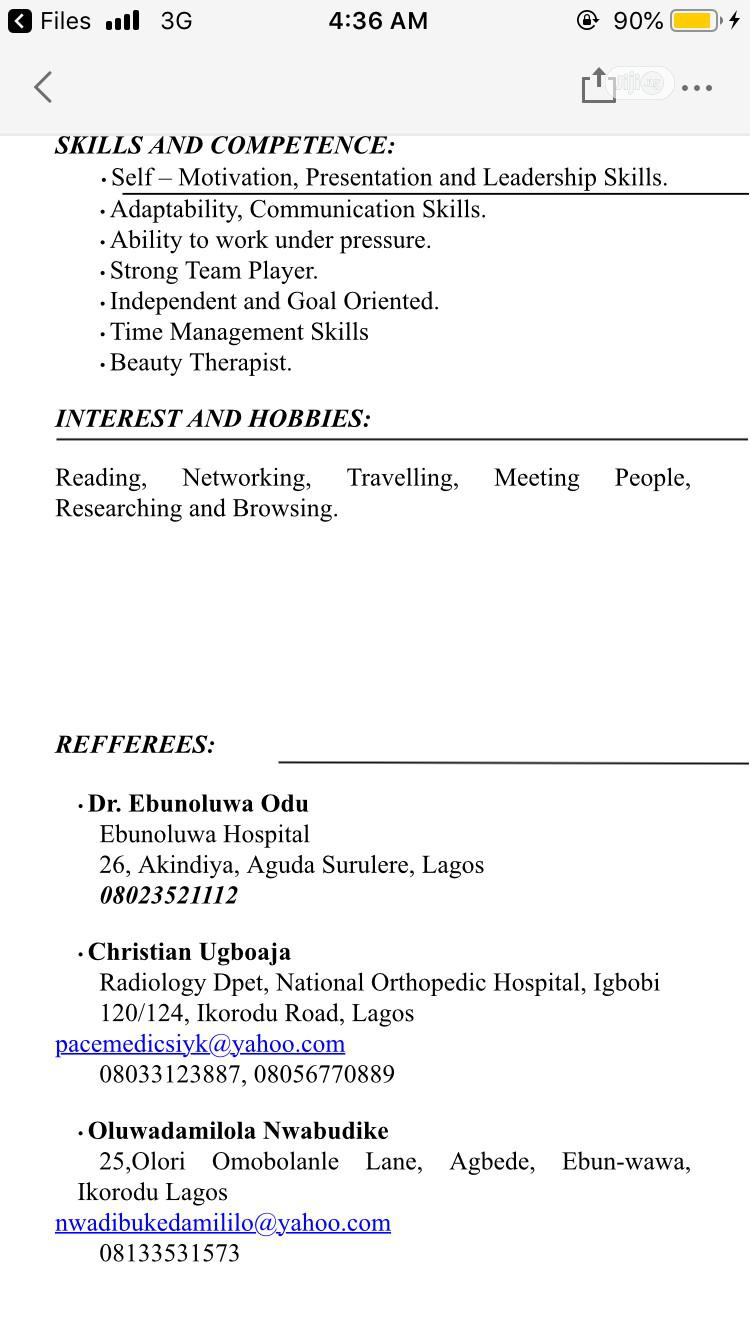 Accounting & Finance CV