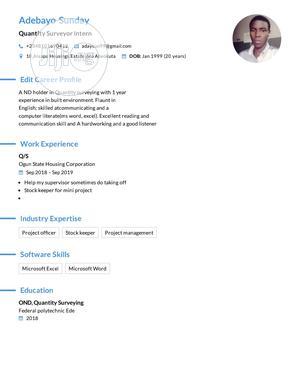 Sale Representative | Management CVs for sale in Ogun State, Abeokuta South