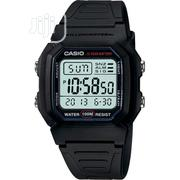 Casio W800H-1AV Men's Classic Sport Black Band Small Watch | Watches for sale in Lagos State