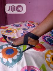 Brand New LILIANA Black Stiletto Heel With Elastic Strap | Shoes for sale in Edo State, Benin City