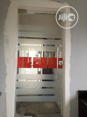Glass Swing Door | Building & Trades Services for sale in Rivers State, Port-Harcourt