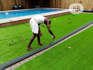 Original & New Artificial Green Grass Carpet For Home/Garden. | Garden for sale in Lagos State, Ikeja