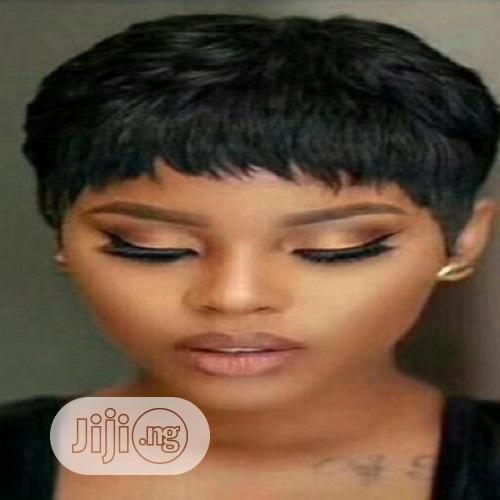 Archive Short Pixie Cut Black Wig In Ikeja Hair Beauty Queen Vee Jiji Ng