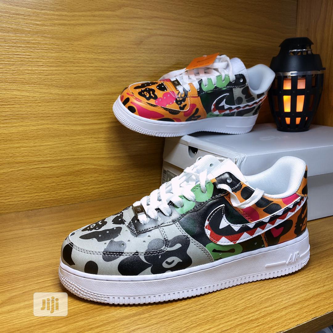 Nike X Bape Air Force One Sneakers 2020