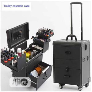 Makeup Trolley Box Black   Tools & Accessories for sale in Lagos State, Amuwo-Odofin