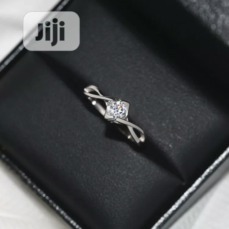 3pcs Original 925 Silver Crystal Zircon Stone Infinity Rings   Wedding Wear & Accessories for sale in Port-Harcourt, Rivers State, Nigeria