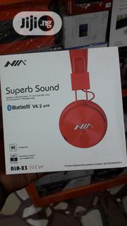 NIA Superb Sound Bluetooth Wireless Headsets | Headphones for sale in Lagos State, Ikeja
