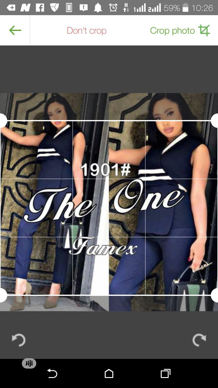 Female the One Trouser Suit | Clothing for sale in Lagos Island (Eko), Lagos State, Nigeria