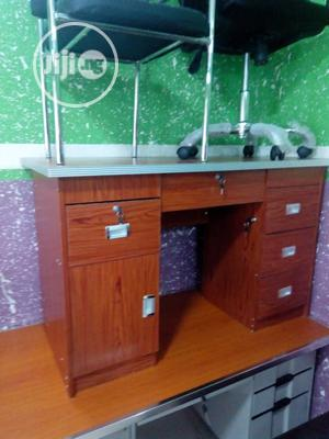 Office Table With Series Of Drawers   Furniture for sale in Lagos State, Victoria Island