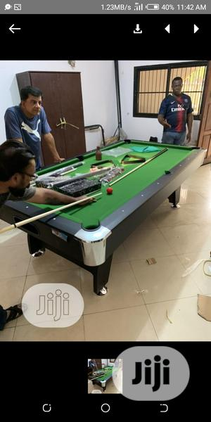Foreign Snooker Board With Complete Accessories | Sports Equipment for sale in Lagos State, Oshodi