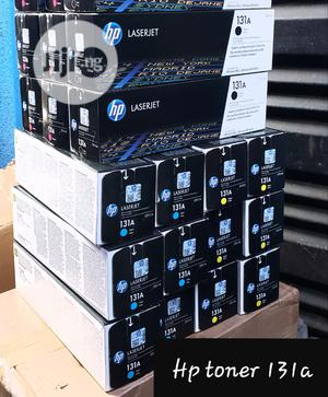 Hp Toner Cartridges 131a Black/Yellow/Cyan/Magenta | Computer Accessories  for sale in Lagos State, Ikeja