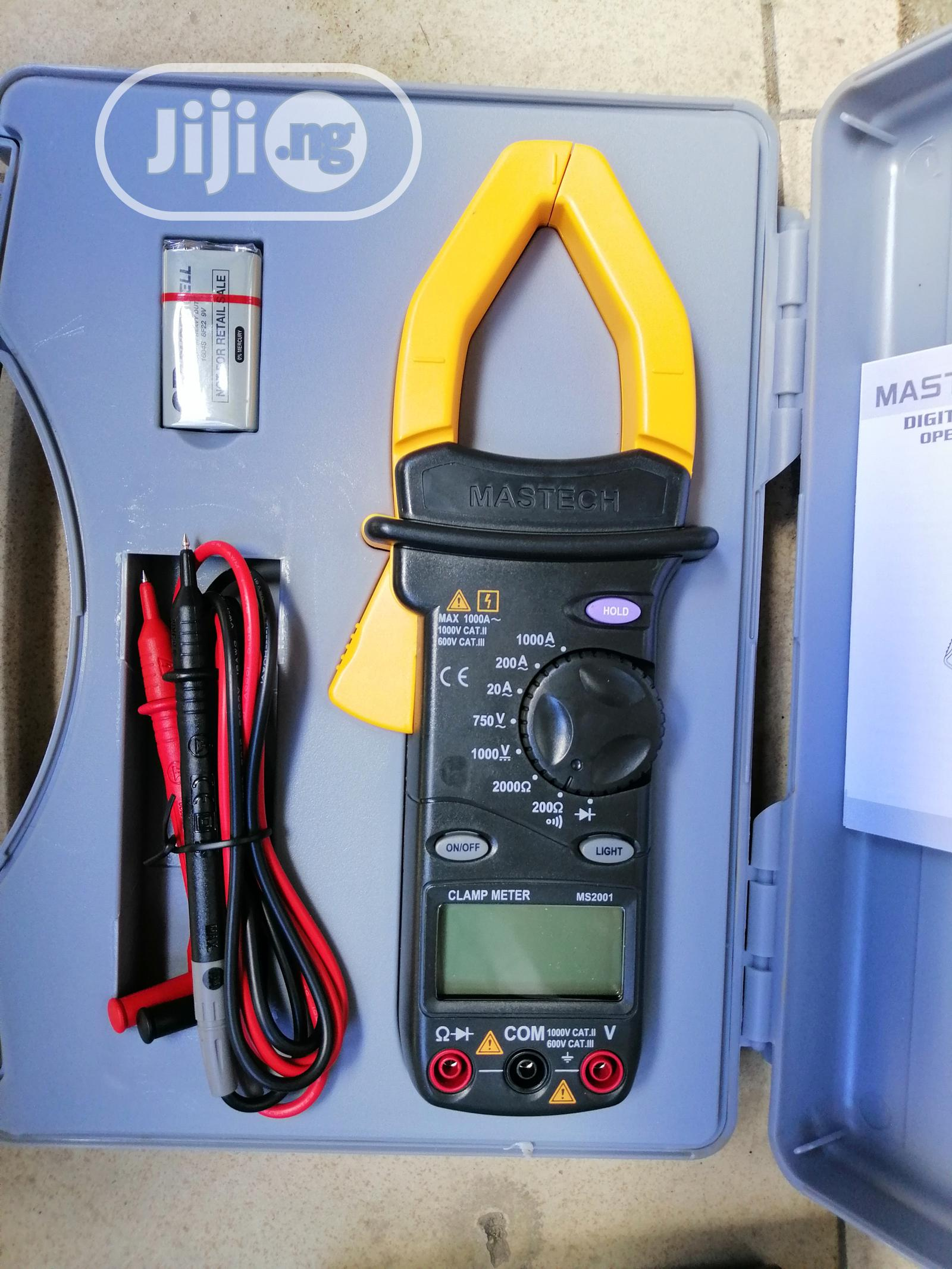 Mastech MS2001 Digital Clamp Meter | Measuring & Layout Tools for sale in Amuwo-Odofin, Lagos State, Nigeria