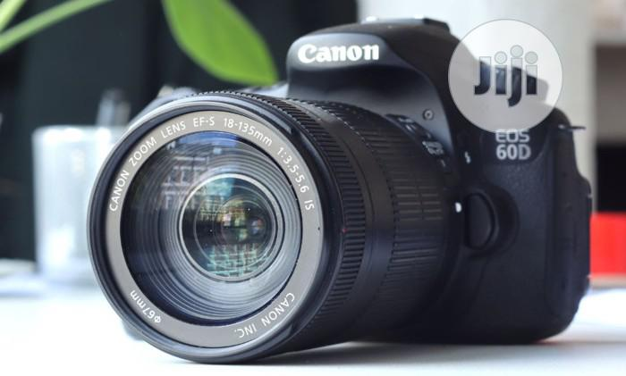 60D Canon Digital Camera With 18-135mm Lens