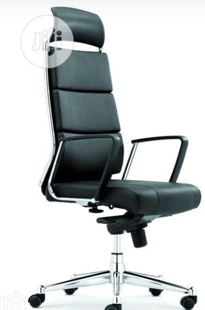 Pure Italian Leather Executive Office Chair | Furniture for sale in Lagos State, Ikeja