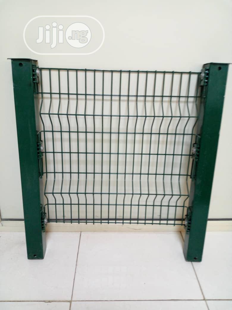 Dekoraj High Security Panel Mesh Fencing