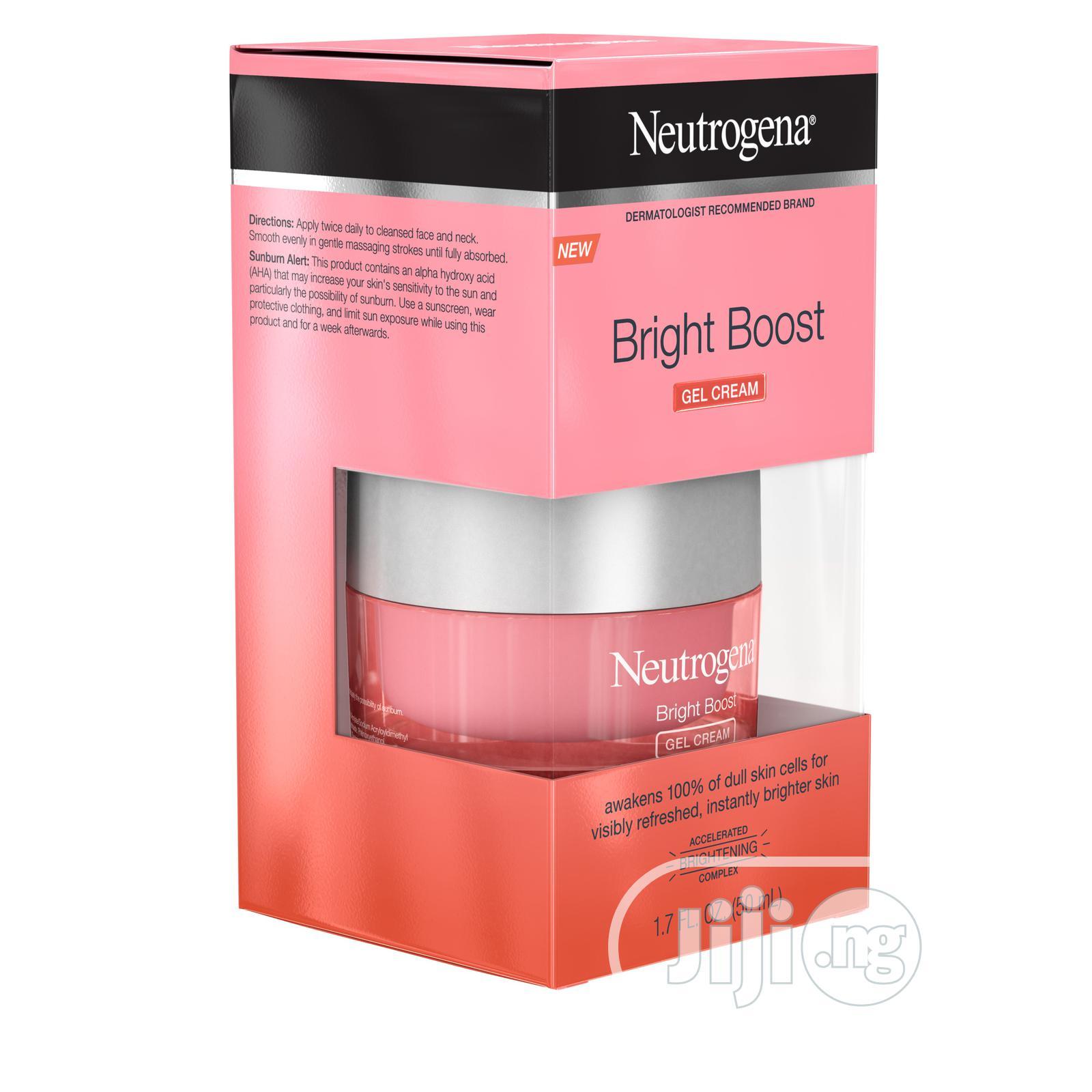 Neutrogena Bright Boost Gel Moisturizer