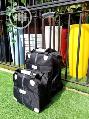 2 in 1 Fancy Black Luggage   Bags for sale in Borno State, Askira/Uba