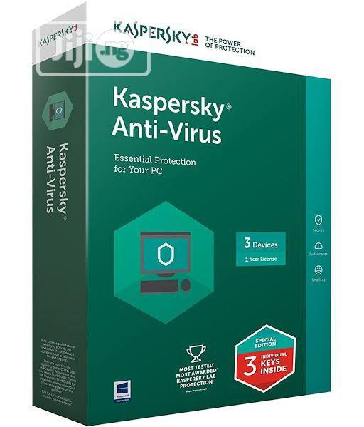 Kaspersky ANTIVIRUS 3user