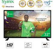 "Syinix 32"" Inch HD LED TV - A410 Series -black | TV & DVD Equipment for sale in Ekiti State, Aramoko"