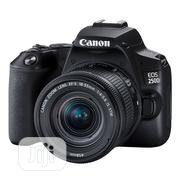 CANON EOS 250D With 18-55mm Is Lens | Photo & Video Cameras for sale in Lagos State, Ikeja