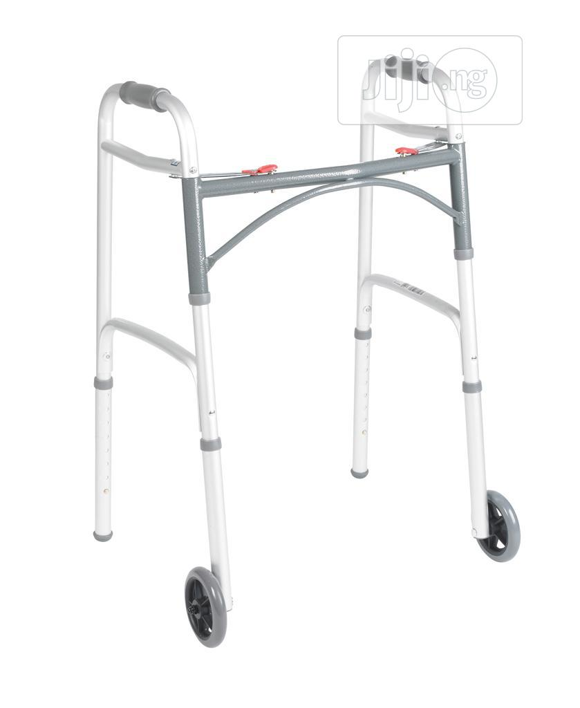 Walking Frame With Front Tyres