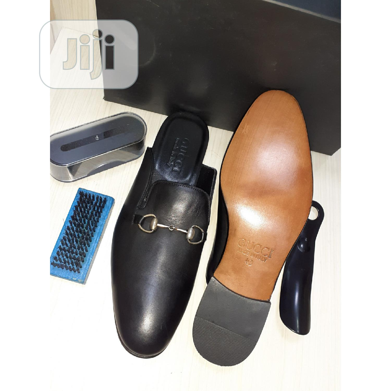 Via Vittore Leather Shoe (Gucci)15