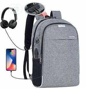 Waterproof Anti-theft Backpack With USB Port   Bags for sale in Oyo State, Ido