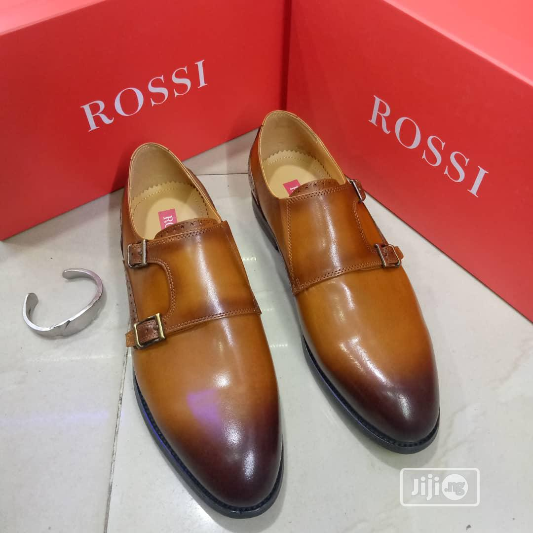 Quality Rossi Men's Leather Shoes